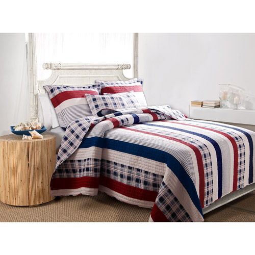 Global Trends Nantucket Reversible Quilt Set