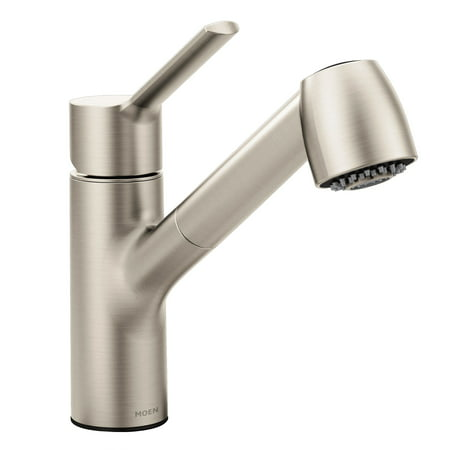 Moen 7585srs Method Single Handle Pull Out Kitchen Faucet