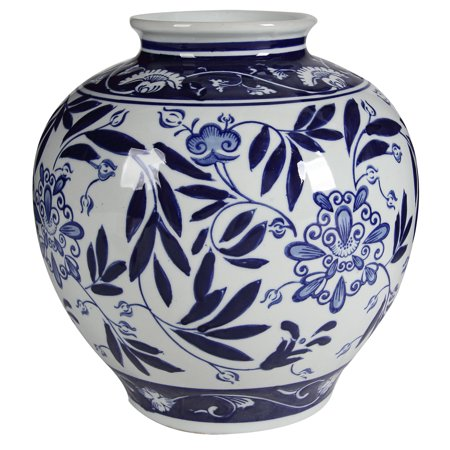 A&B Home Anthony Venetucci Blue and White Porcelain
