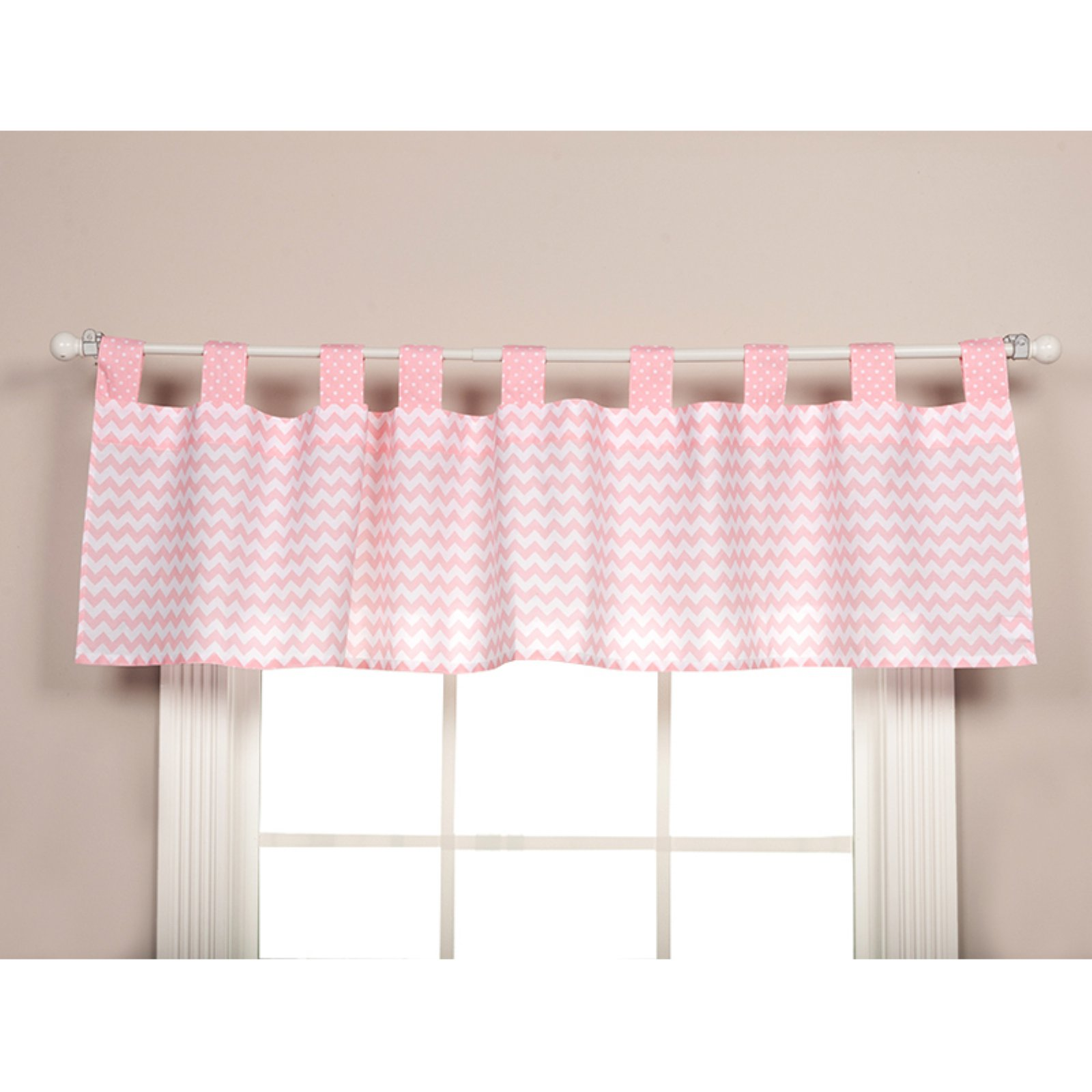Trend Lab Pink Sky Window Valance by Trend Lab