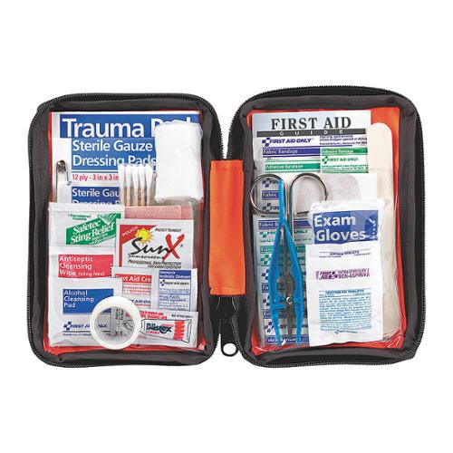 FIRST AID ONLY First Aid Kit, Bulk, Orange, 107Pcs, 1 Ppl FAO-420
