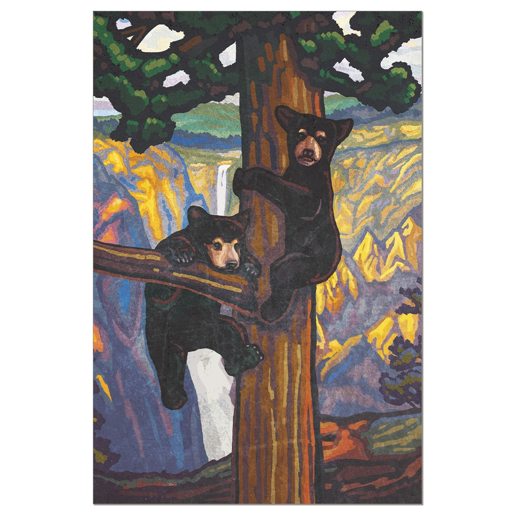 Tree-Free Greetings Bear Cubs Boxed ECOnotes Blank Note Cards-FS56074
