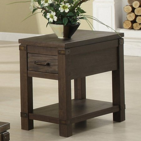 Riverside Promenade Chair Side Table - Warm Cocoa