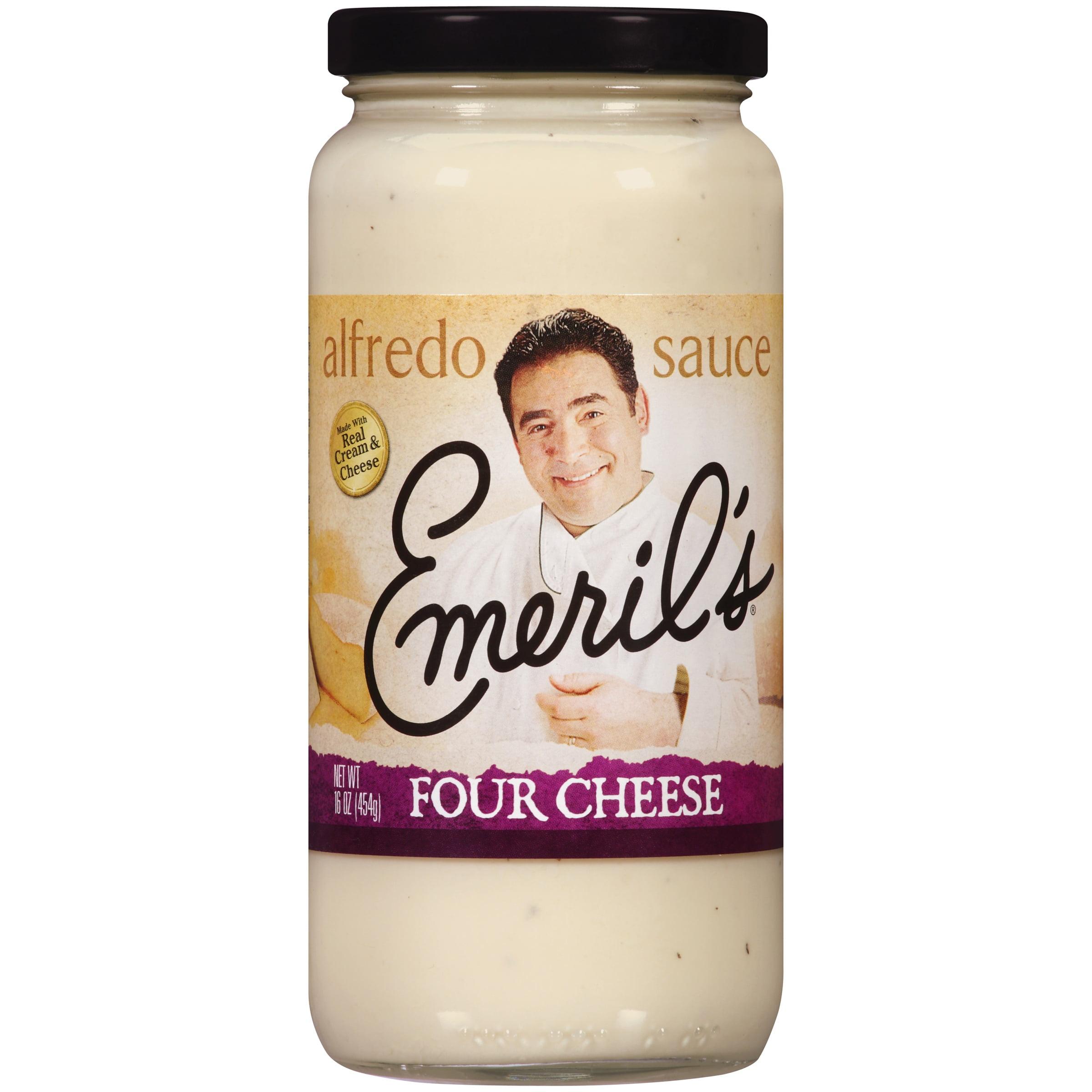 Emeril's® Four Cheese Alfredo Sauce 16 oz. Jar.