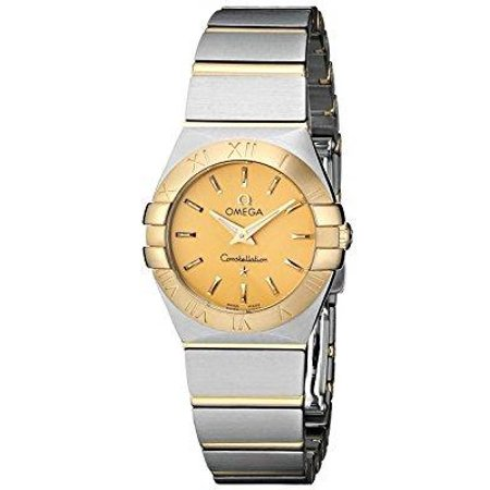 Omega Women's 123.20.24.60.08.001 Constellation Champagne Dial Watch