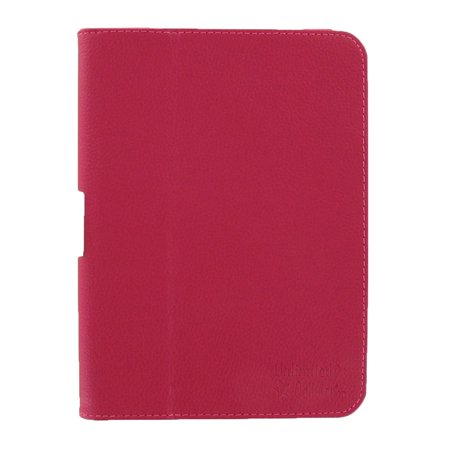 Unlimited Cellular Leather Flip Book Case Folio For Kindle Fire Hd 7    2012 Version    Hot Pink
