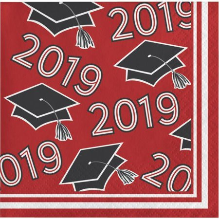 Class Of 2019 Beverage Napkins, 36 ct
