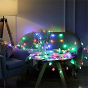 【LNCDIS】1.5M 10 LED Snowflakes Shape String Lights Party Wedding Christmas Decor Lights