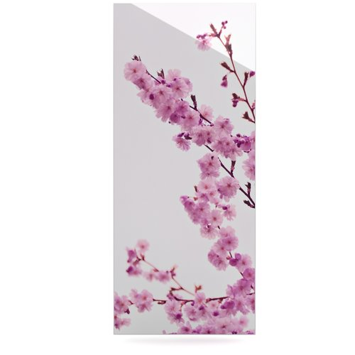 East Urban Home 'Cherry Sakura' by Monika Strigel Photographic Print on Metal