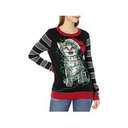 Ugly Christmas Sweater Company Women's Assorted Pullover, Black, Size Medium