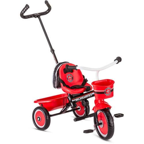 Schwinn Easy-Steer Trike with Push Handle