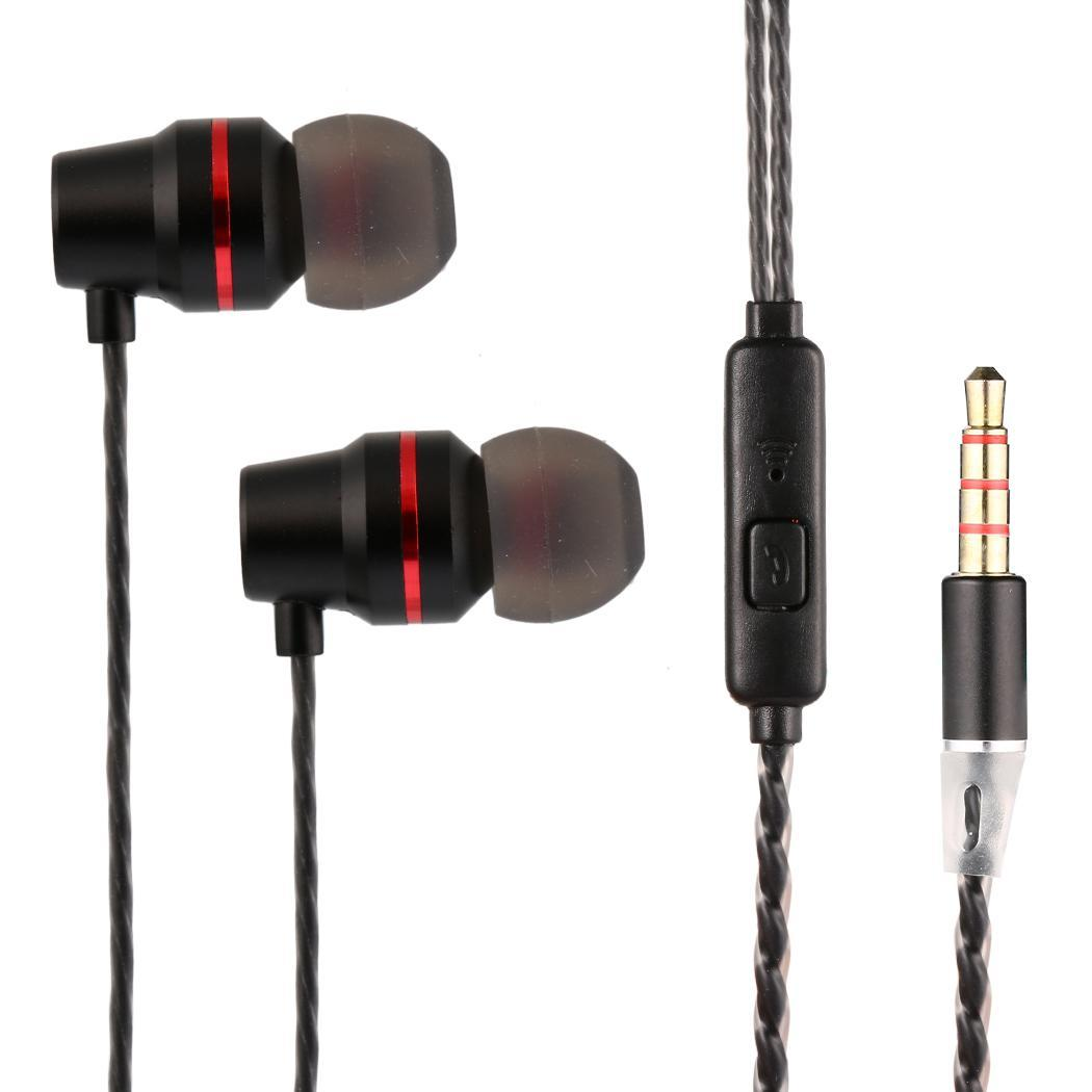 3.5mm Wired With Microphone In- Ear Earphones Earbuds HITC