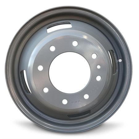 New 17 Inch Steel Rim For 2005-2016 Ford F350SD DRW Dually 17x6.5 Inch 8 Lug Replacement Wheel Rim (Ford Dually Steel Wheel Spacers)