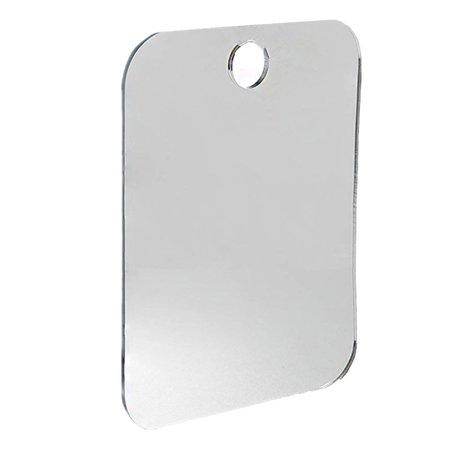Zadro Fogless Shower Shaving Mirror (Anti Fog Shower Mirror Bathroom Fogless Fog Free Mirror Washroom Travel)