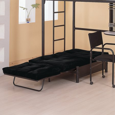 Coaster Futon Pad ONLY, Black