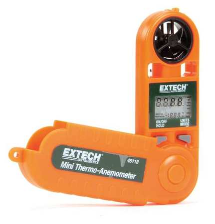 Anemometer,100 to 5500 fpm EXTECH 45118