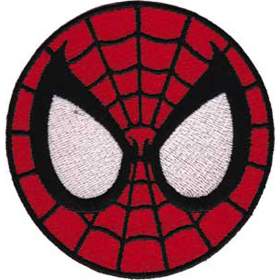 Spiderman Patch, Spiderman Mask, 3""