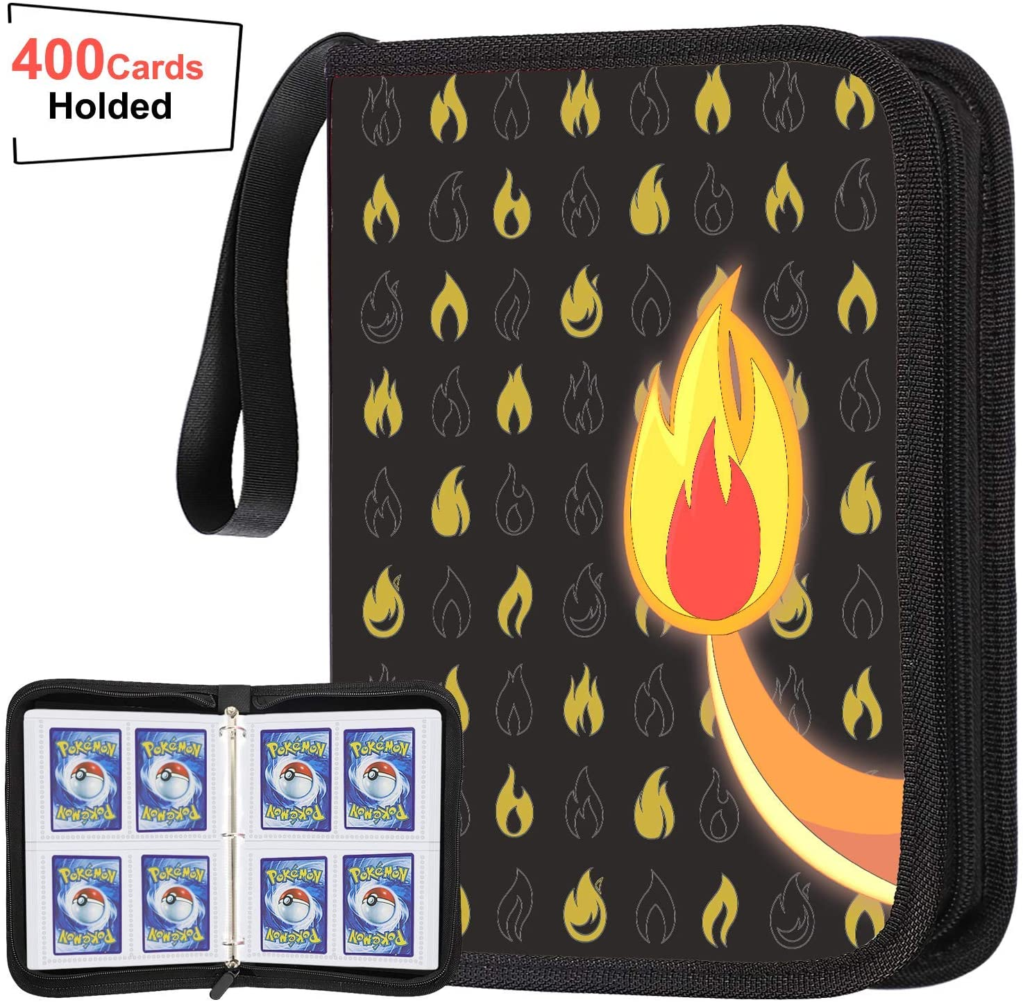 JoyX Card Binder Compatible With Pokemon Card, Carrying