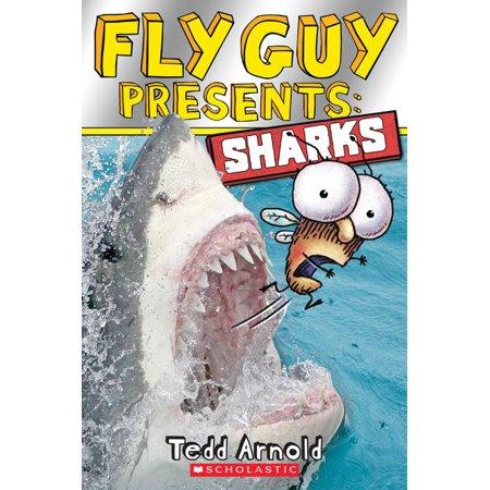 Fly Guy Presents: Sharks (Scholastic Reader, Level 2) (Paperback) Scholastic Little Leveled Readers