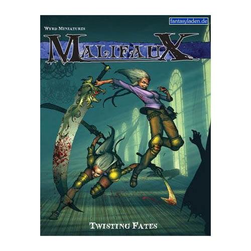Twisting Fates Malifaux Expansion Rulebooks Multi-Colored