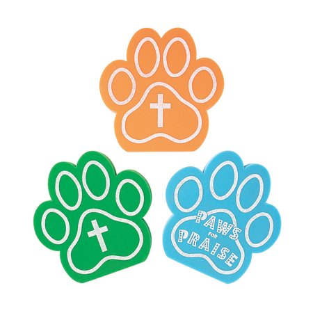 Fun Express - African Safari Vbs Foam Hand Pawprint - Toys - Value Toys - Misc Value Toys - 12 Pieces African Safari Vbs Foam Hand Pawprint - Toys - Value Toys - Misc Value Toys - 12 Pieces