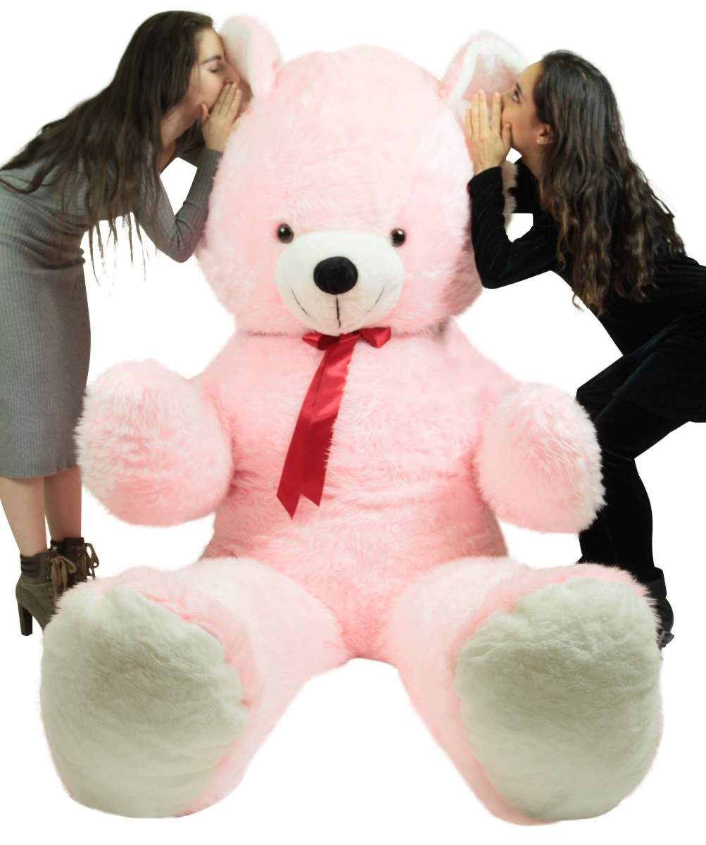 8 Foot Enormous Pink Teddy Bear New Soft Made in USA 96 Inch, Ships in Huge Box by BigPlush