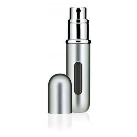 TRAVALO Classic HD refillable perfume atomizer in Silver