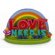 Penn Plax The Beatles All You Need Is Love Aquarium Ornament