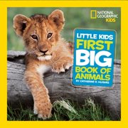 National Geographic Little Kids First Big Books: Little Kids First Big Book of Animals (Hardcover)