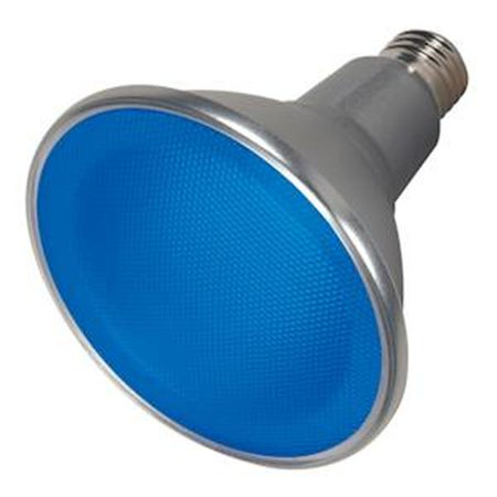 Satco 09482 - 15PAR38/LED/40'/BLUE/120V (S9482) PAR38 Flood LED Light -