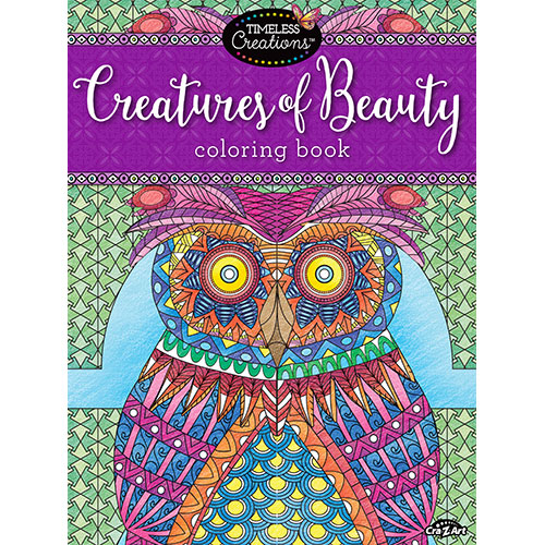 Cra-Z-Art Timeless Creations CREATURES OF BEAUTY Coloring Book by Generic