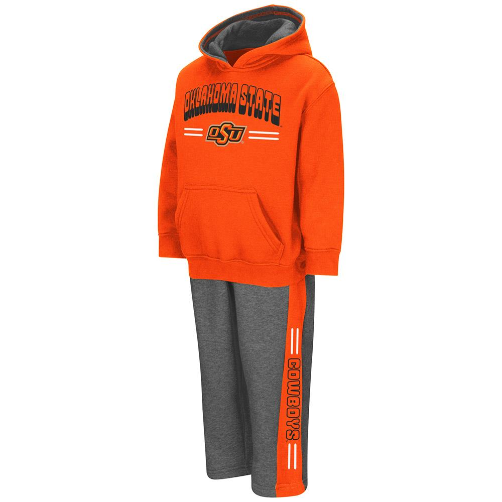 Toddler Oklahoma State Cowboys Boys Punter Fleece Hoodie and Sweatpants Set by Colosseum