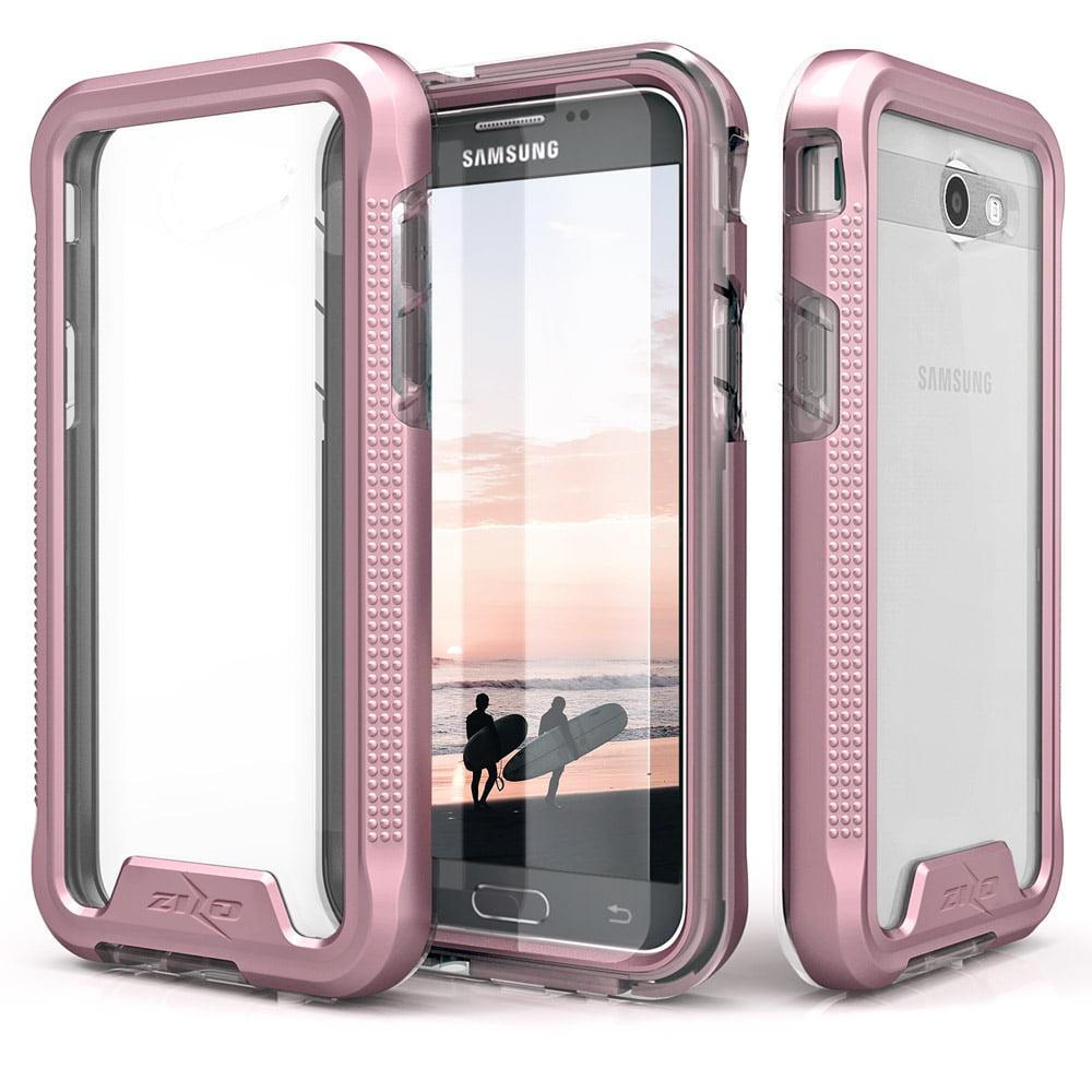 first rate c160f 547ce Samsung Galaxy J7 Prime Case, Zizo [ION Series] w/ [Samsung Galaxy J7 Prime  Screen Protector] Crystal Clear [Military Grade] Galaxy J7 V / Perx