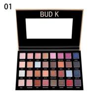 Matte Shimmer Eyeshadow Palette Long Lasting Eye Shadow Metallic Makeup Sets - 32 Colors