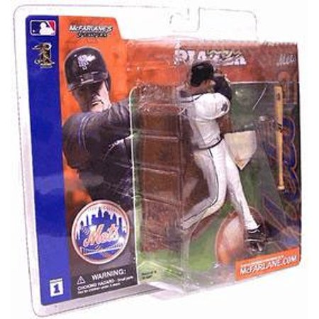 Mcfarlane Mlb Sports Picks Series 1 Mike Piazza Action Figure  White Jersey Variant