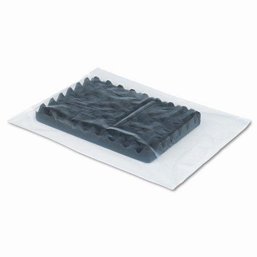 Universal Low-Density Flat Poly Bags, 20 X 24, .002mil, Clear, 500/ctn