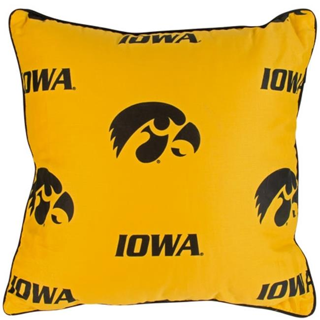 College Covers IOWDPPR Iowa 16 x 16 Decorative Pillow Set
