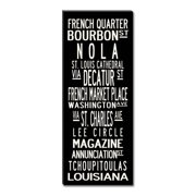 Uptown Artworks New Orleans Framed Textual Art on Wrapped Canvas