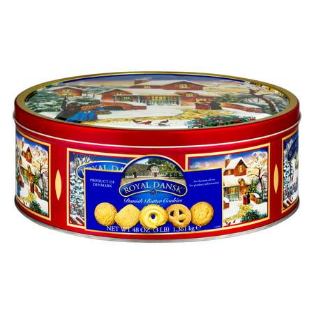 Royal Dansk Danish Butter Cookies, 48.0 OZ