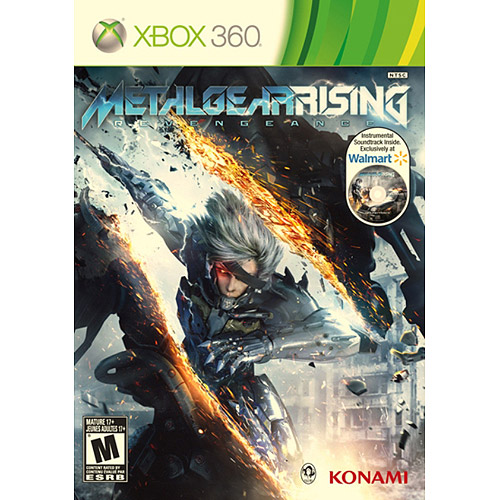 Metal Gear Rising: Revengeance - Wal-Mart Exclusive Instrumental Soundtrack (Xbox 360)