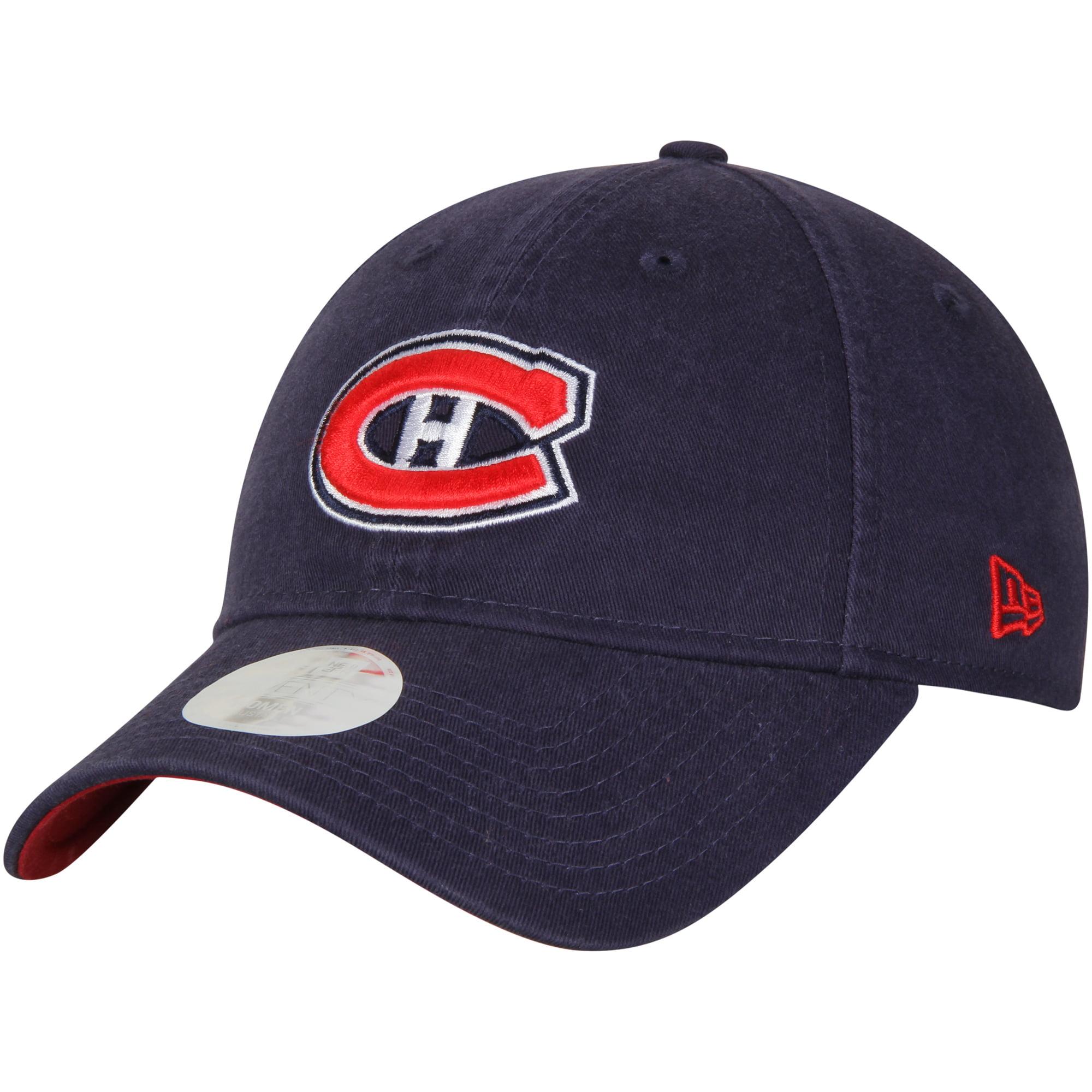 Montreal Canadiens New Era Women Preferred Pick 9TWENTY Adjustable Hat - Navy - OSFA