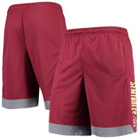 Men's Russell Athletic Garnet Florida State Seminoles Athletic Fit Colorblocked Training Shorts