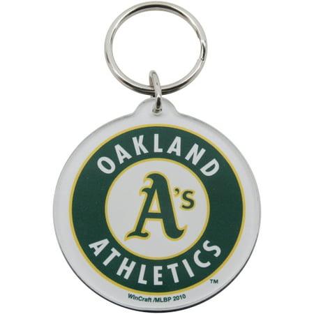 Oakland Athletics High Definition Logo Key Ring - No Size