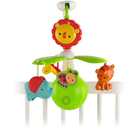 Fisher Price Rainforest Friends Grow With Me Mobile Walmart