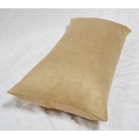 - Aiking Home Luxury Faux Suede Body Pillow Cover with Hidden Zipper 20