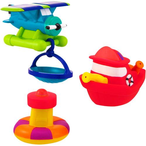 Garanimals Rescue Vehicles Bath Toys Set