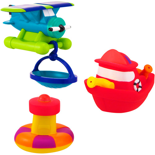 Garanimals Rescue Vehicles Bath Toys Set