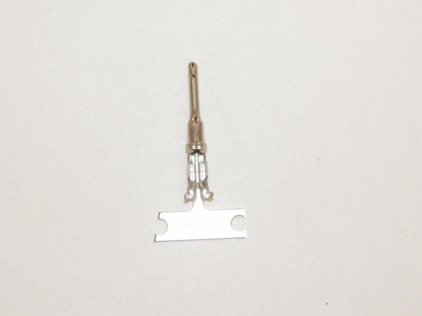 100 Deutsch #16 STAMPED 1060-16-0122 Terminals male PINS 16-18-20 ga wire
