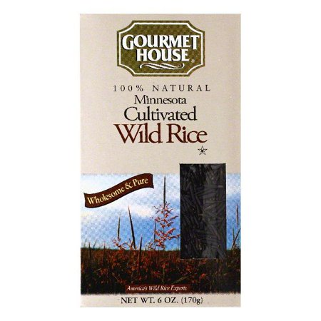 Gourmet House Minnesota Cultivated Wild Rice, 6 OZ (Pack of