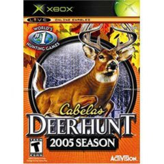 Cabelas Deer Hunt 2005 - Xbox (Refurbished) Pre-owned video game in very good condition.  Comes with case with original artwork and game disc.  Case may have some wear as it is a used item.  Game disc may have been refurbished.  Game has been tested to ensure it works.
